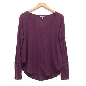 Lucky Brand Purple Lightweight Sweater - Size S